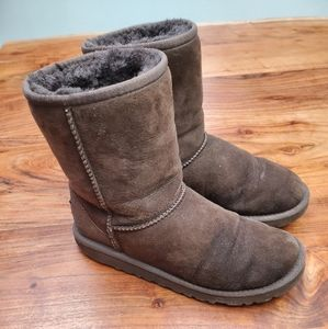 UGG Classic Style Short Boots 4Y, 6W